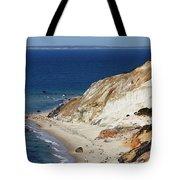 Gay Head Cliffs And Beach Tote Bag