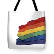Gay Rainbow Flag  Tote Bag