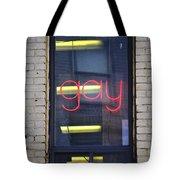 Gay Sign Tote Bag
