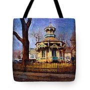 Gazebo And Tree Tote Bag