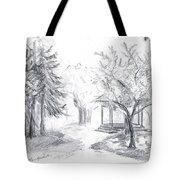 Gazebo Tote Bag by Brandy Woods