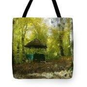 Gazebo In A Park Tote Bag