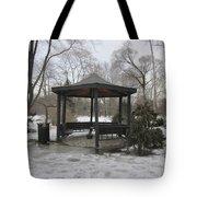 Gazebo On Ice Tote Bag