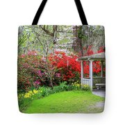 Gazebo View Tote Bag