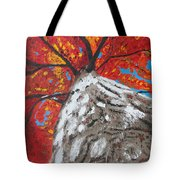 Gazing Above Tote Bag