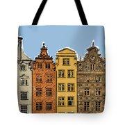 Gdansk Buildings Tote Bag