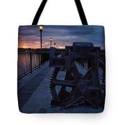 Gears At Daybreak  Tote Bag
