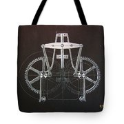Gears No2 Tote Bag