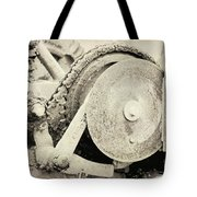 Gears Nuts And Bolts Tote Bag