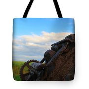 Gears Of History Tote Bag