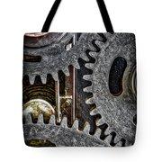Gears Of Life Tote Bag