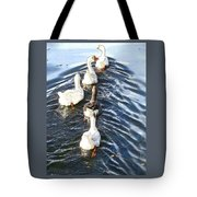 the Geese are leaving Tote Bag