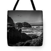 Geese Attack Tote Bag