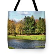 Geese Sanctuary Tote Bag