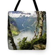 Geiranger Fjord Tote Bag