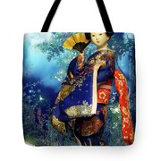 Geisha - Combining Innocence And Sophistication Tote Bag
