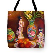 Geisha Dolls Tote Bag