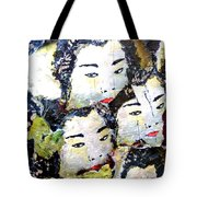 Geisha Girls Tote Bag