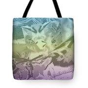 Gel Art Bw Tinted Tote Bag