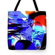 Blue Narcissus Tote Bag