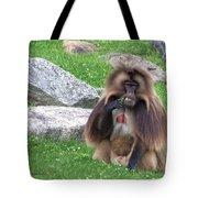 Gelada Baboon Tote Bag