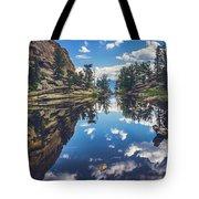 Gem Lake Reflections Tote Bag