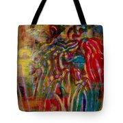 Gemini Abstract Tote Bag