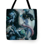 Gene Simmons House Of Horrors Tote Bag