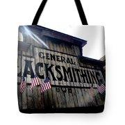 General Blacksmithing Tote Bag