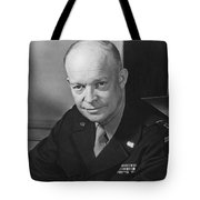 General Dwight Eisenhower Tote Bag by War Is Hell Store