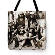 General George Cook Apache Army Tote Bag