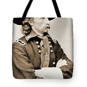 General George Custer Tote Bag