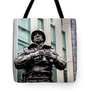 General George S Patton Tote Bag