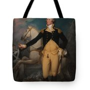 General George Washington At Trenton Tote Bag