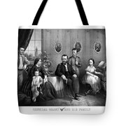 General Grant And His Family Tote Bag