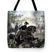 General Grant During Battle Tote Bag