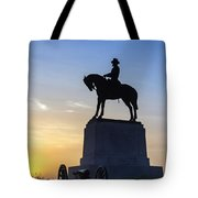 General Howard Monument At Cemetery Hill Tote Bag