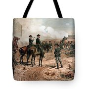 General Sherman Observing The Siege Of Atlanta Tote Bag