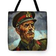 General Sir Alan Cunningham Tote Bag