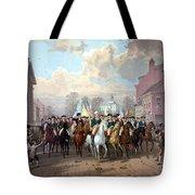 General Washington Enters New York Tote Bag