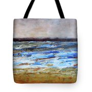 Generations Abstract Landscape Tote Bag