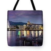 Geneva By Night  Tote Bag
