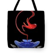 Genie Out Of Bottle Tote Bag