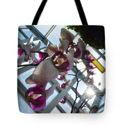 Gentle Giant Orchid Tote Bag
