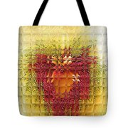 Gentle Glass Heart Tote Bag