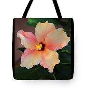 Gentle Hibiscus Tote Bag