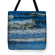Gentle Roll Of The Waves Tote Bag