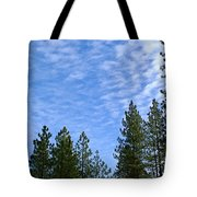 Gentle Sky Tote Bag