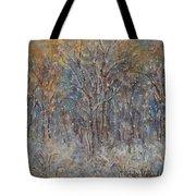 Gentle Snow Tote Bag