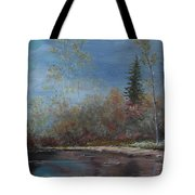 Gentle Stream - Lmj Tote Bag